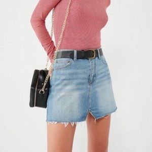 Urban Outfitters BDG notched denim mini skirt
